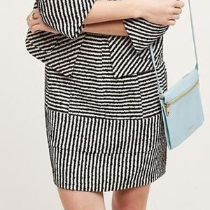 New Anthropologie Kirsta Stripped Skirt by Harlyn